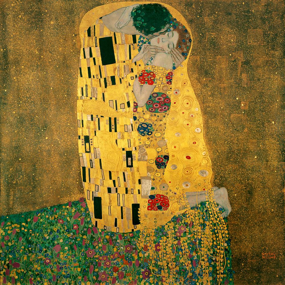7 Gustav_Klimt the kiss.jpg