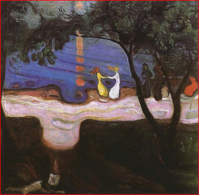 Dance Beside the Water , 1899