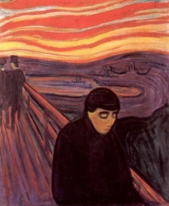 Edvard Munch,  Despair , 1894