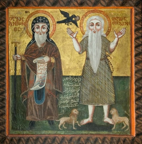 17 Coptic St Anthony the Great and St Paul of Thebes.jpg