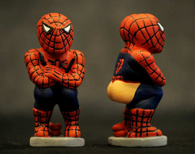 Spiderman caganer.jpg