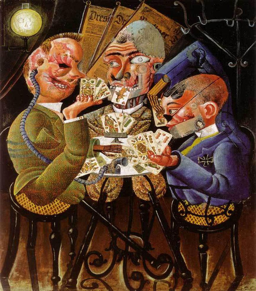 Skat Players , 1920