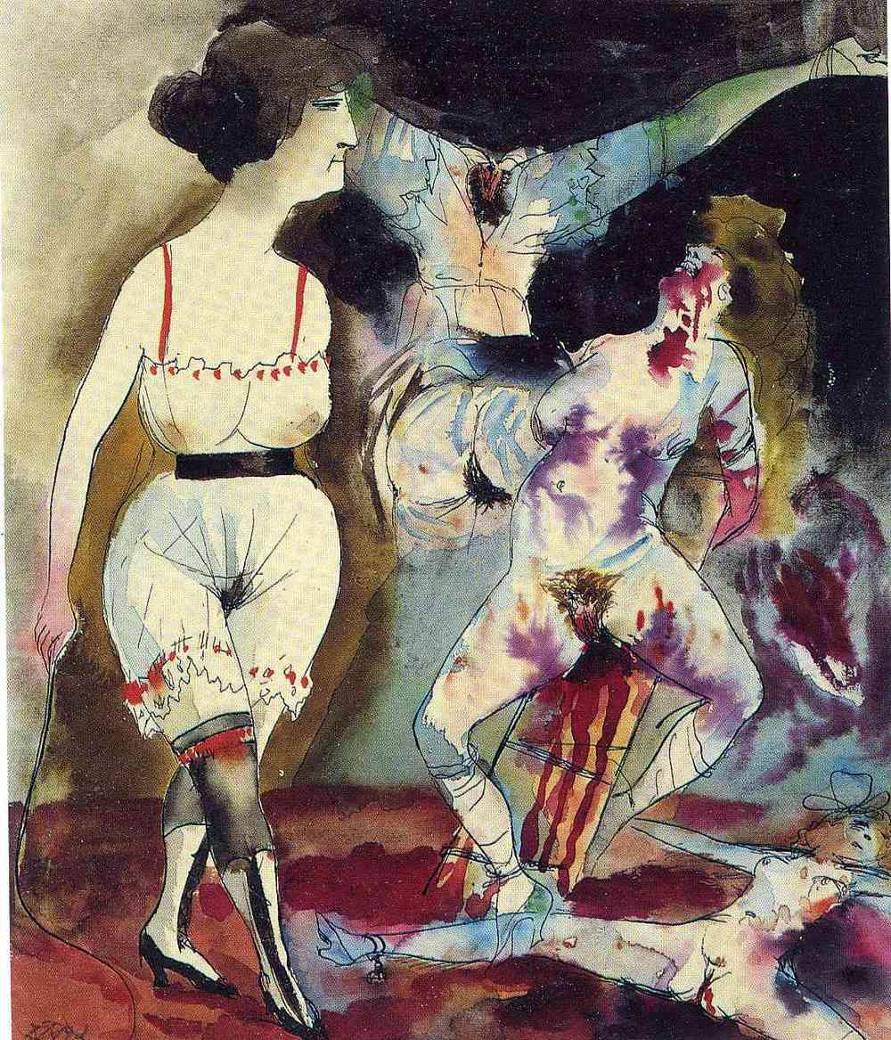 Dream of the Sadist,  1922