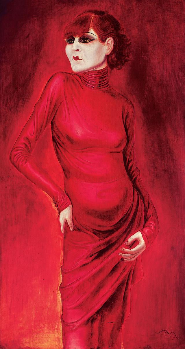The Dancer Anita Berber, 1925