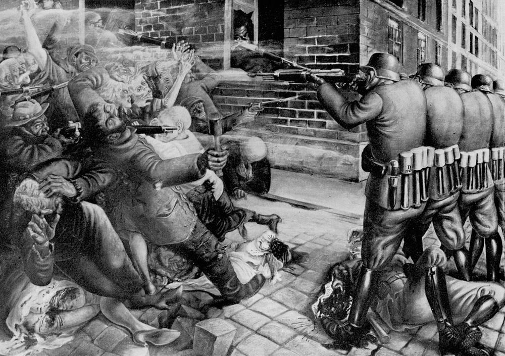 Street Fight, 1927