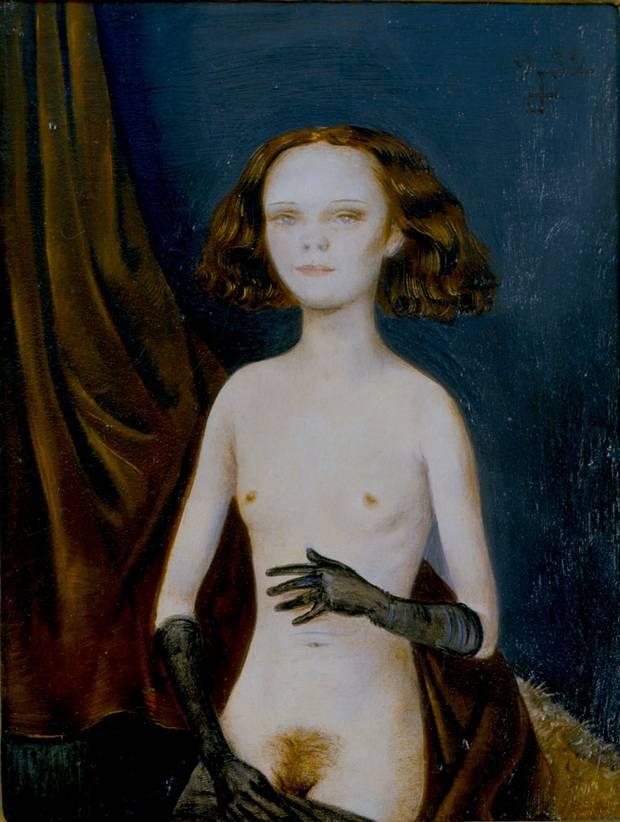 Venus with Gloves, 1932