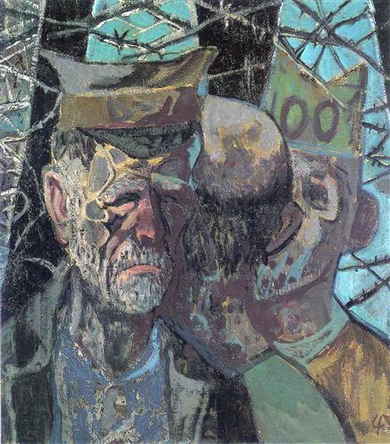 Self Portrait as a Prisoner of War, 1947