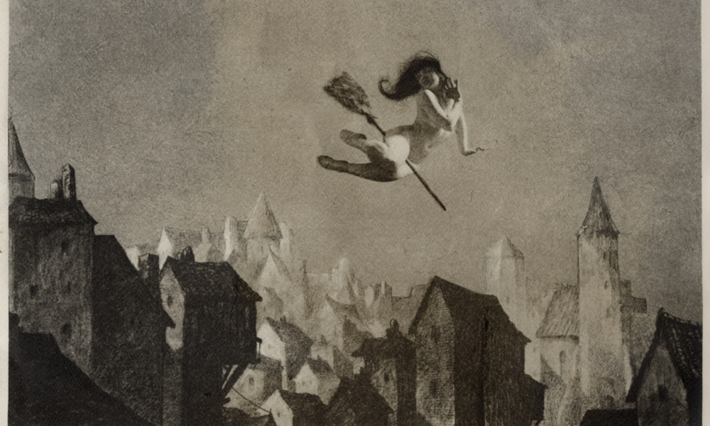 William Mortensen,  Off For the Sabbot , 1927