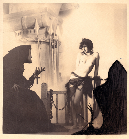 Chained Nude With Monk, c 1926