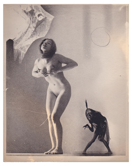 Nude with Demon, c 1928