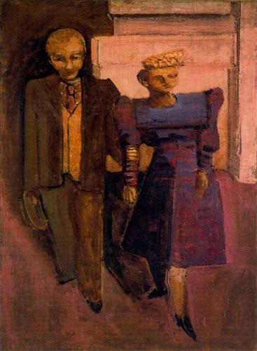 Untitled (Man Standing Next to Woman), 1938