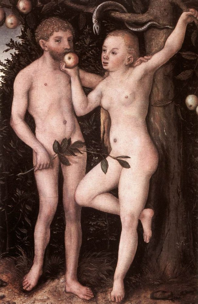 Adam and Eve, 1538