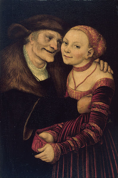 The Ill Matched Couple, 1517