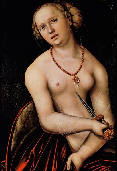 Lucretia, 1538