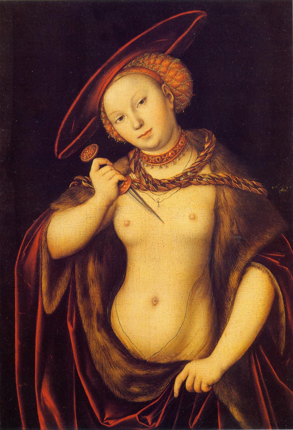 Lucretia, 1525