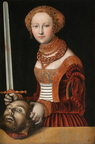Judith with the Head of Holofernes, c 1537