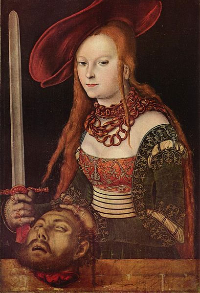 Judith with the Head of Holofernes, c 1530