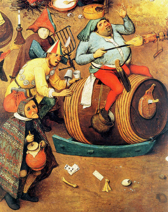 The Fight Between Carnival and Lent (detail), 1559