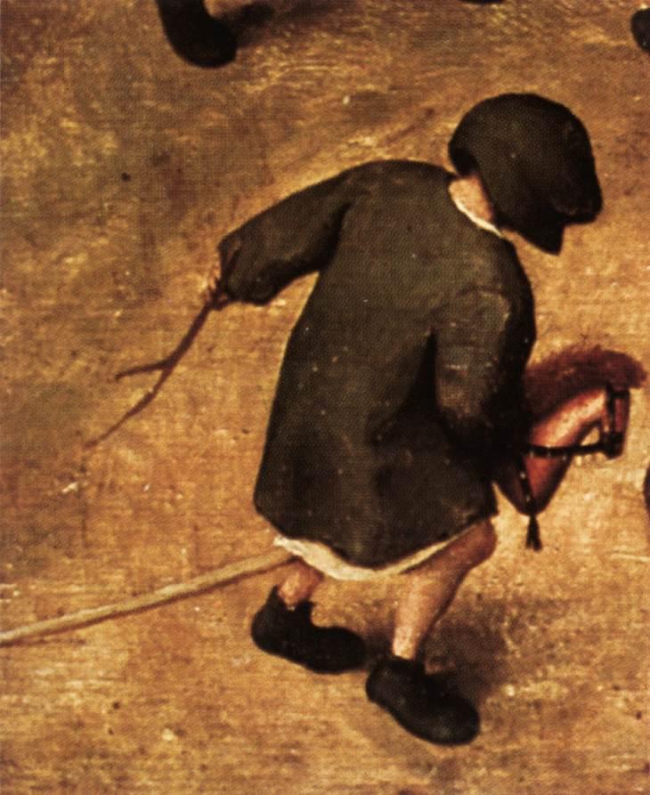 Children's Games (detail), 1560