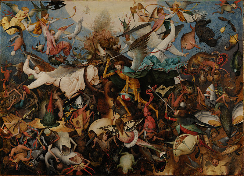 Fall of the Rebel Angels, 1562