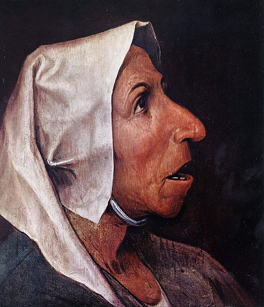 Old Woman, 1563