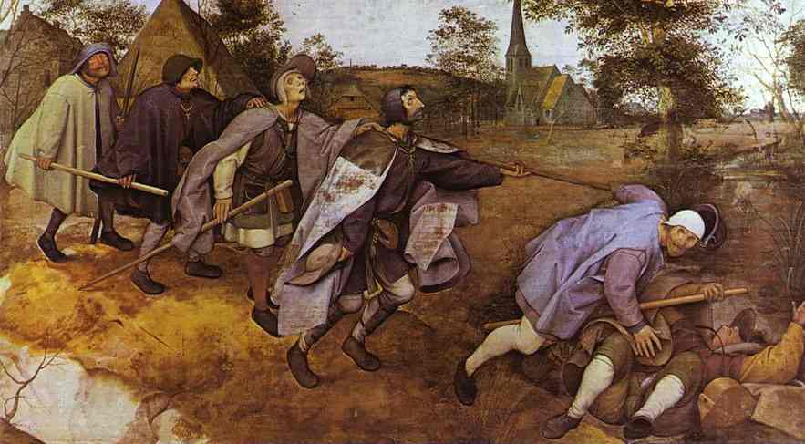 The Blind Leading the Blind, 1568