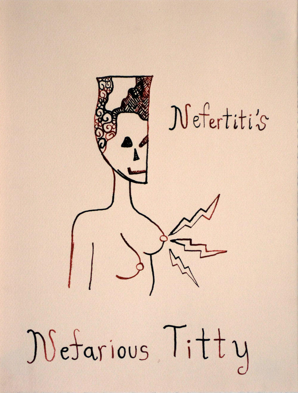 Nefertiti's Nefarious Titty