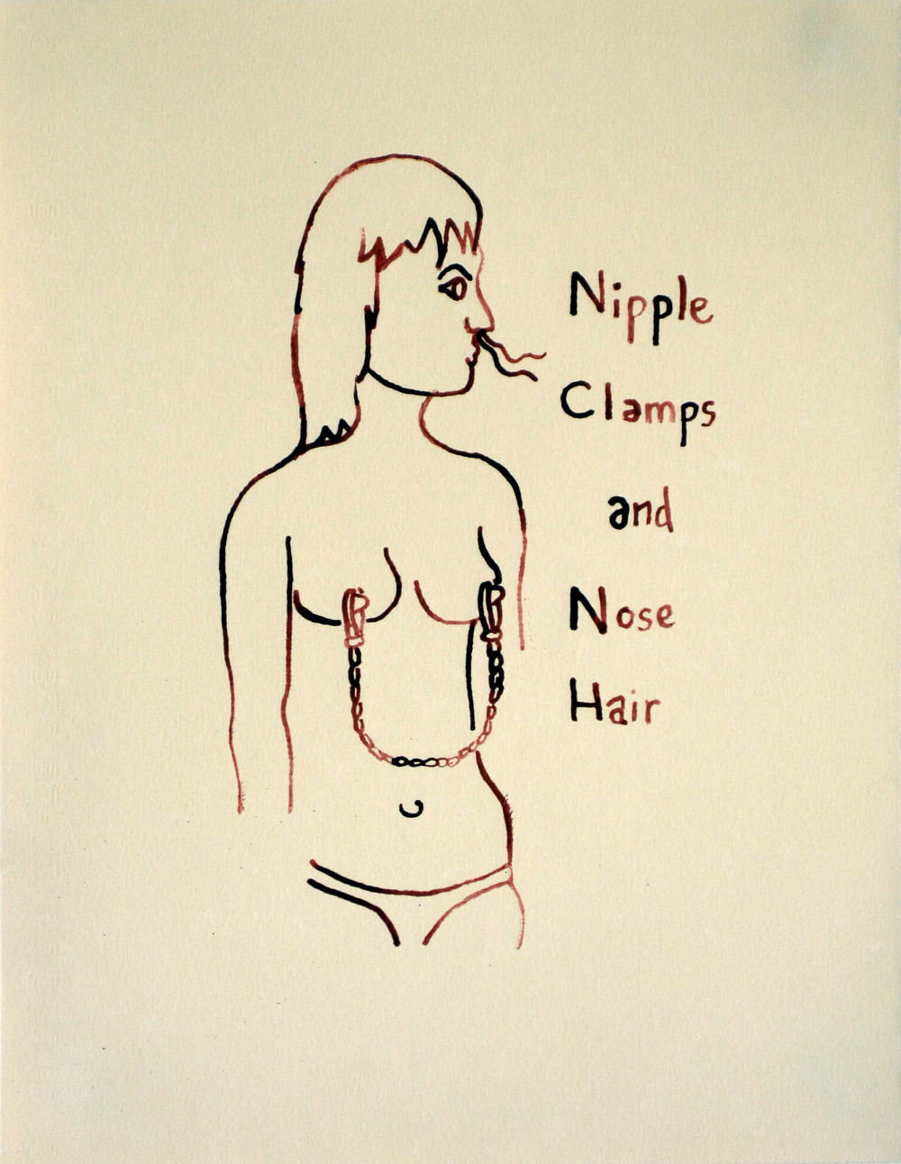 Nipple Clamps and Nose Hair