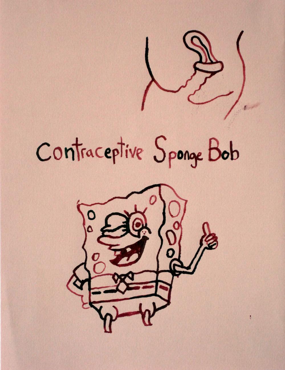 Contraceptive Sponge Bob