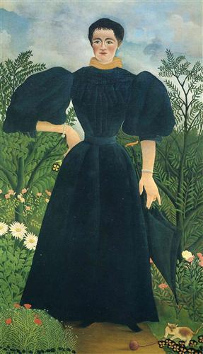 Portrait of a Woman (Clemence Rousseau), 1897