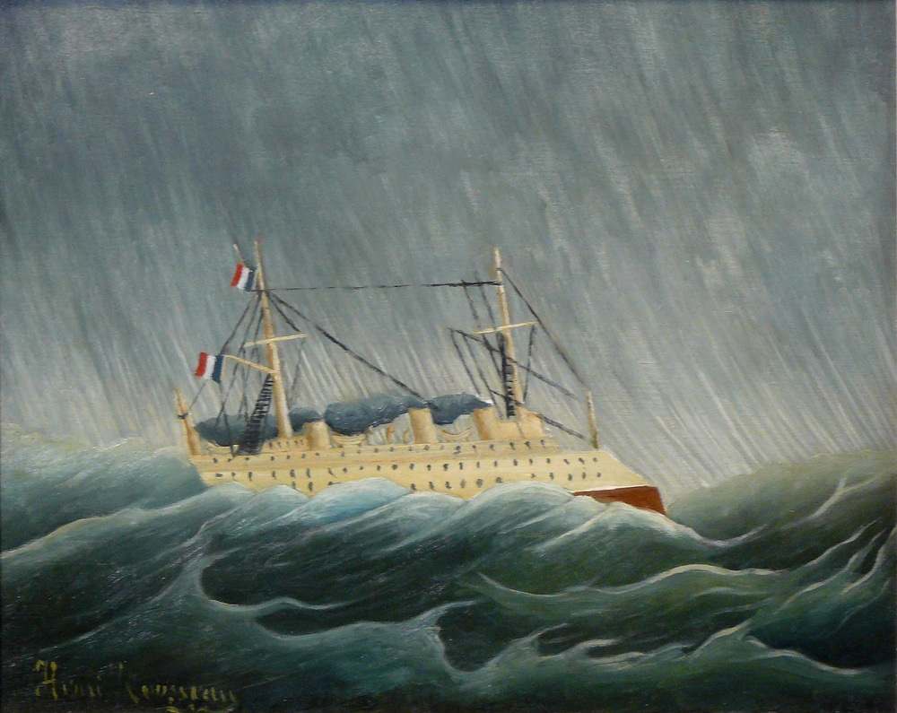 The Storm Tossed Vessel, 1899