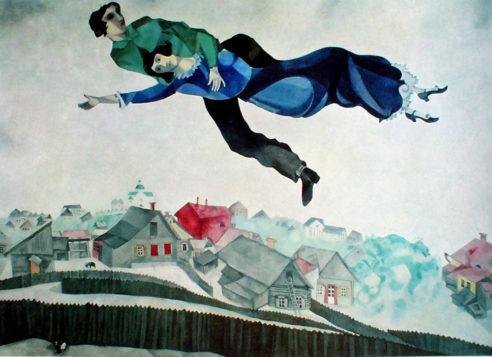 Over the Town, 1918