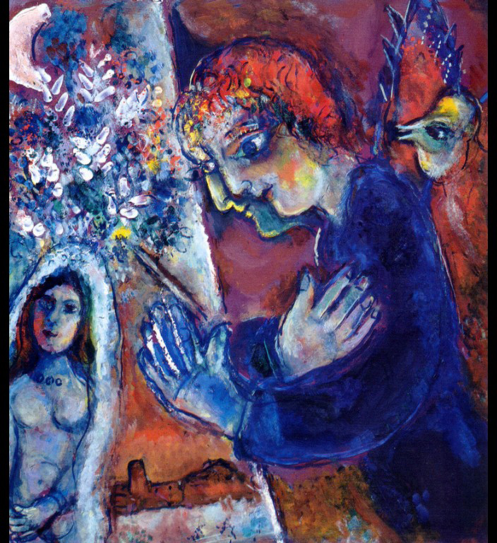 Marc chagall christopher hall for Chagall tableau