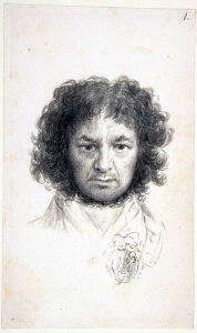 Francisco Goya,  Self Portrait , 1795.