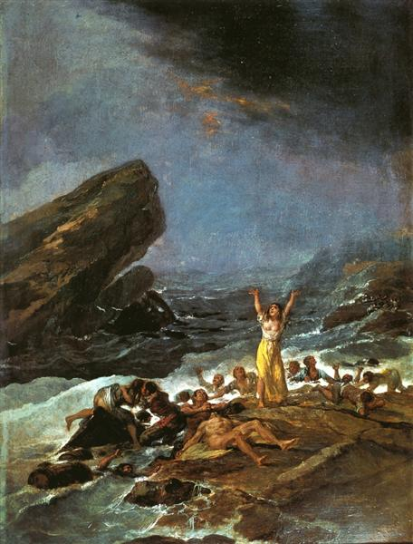 The Shipwreck, 1794