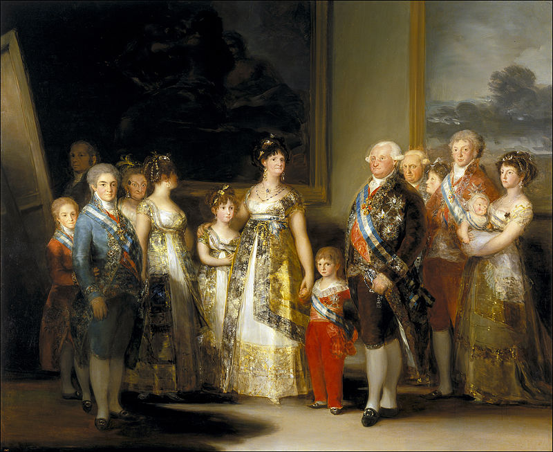 Charles the IV of Spain and His Family, 1800