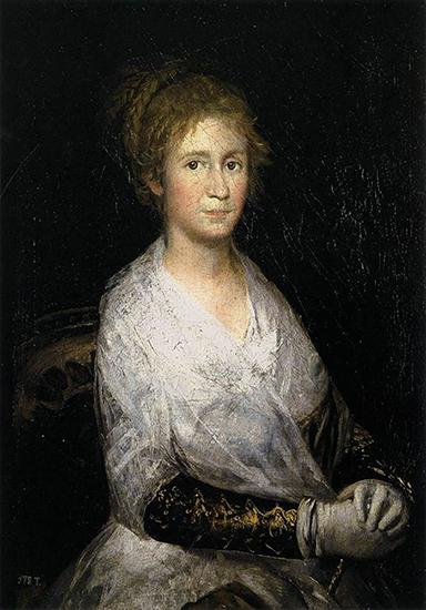 Portrait of Josefa Bayeu or Leocadia Weiss, 1805
