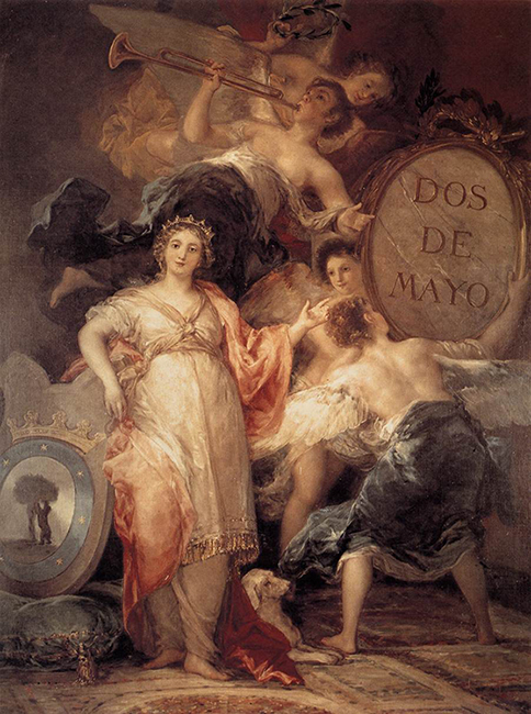 Allegory of the City of Madrid, 1810