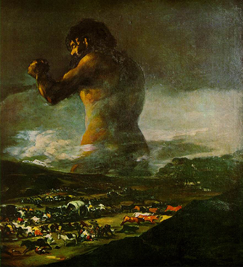 The Colossus, 1812