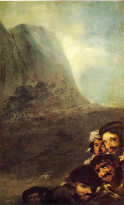 Heads in a Landscape, c 1823