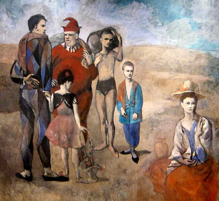 Family of Acrobats and Jugglers, 1905