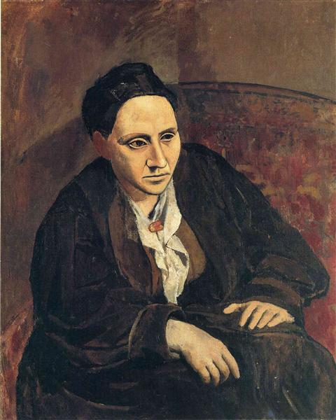 Portrait of Gertrude Stein, 1906