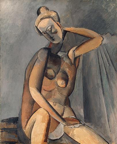 Nude, 1909