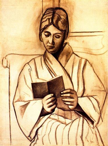 Woman Reading (Olga), 1920