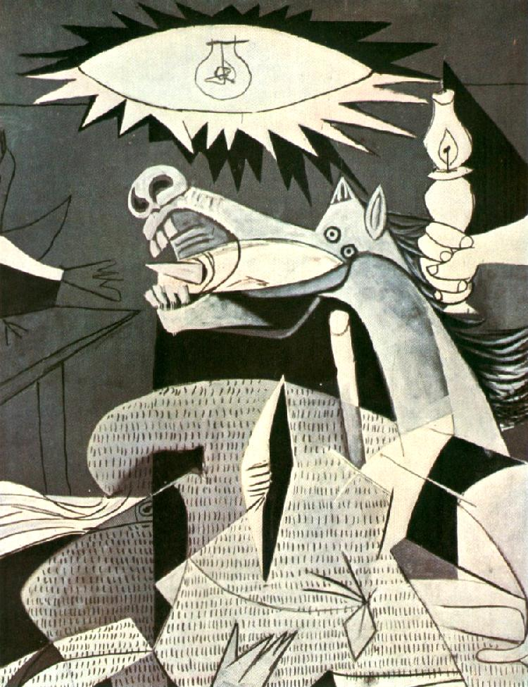 guernica picasso 1937 In gernika, 1937: the market day massacre, the historian xabier irujo reveals   picasso dealt with the subject of guernica by personalizing it.