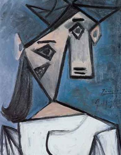 Woman's Head, 1934