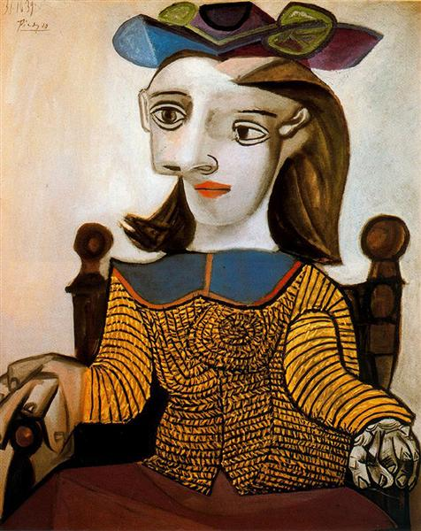 The Yellow Shirt (Dora Maar), 1939