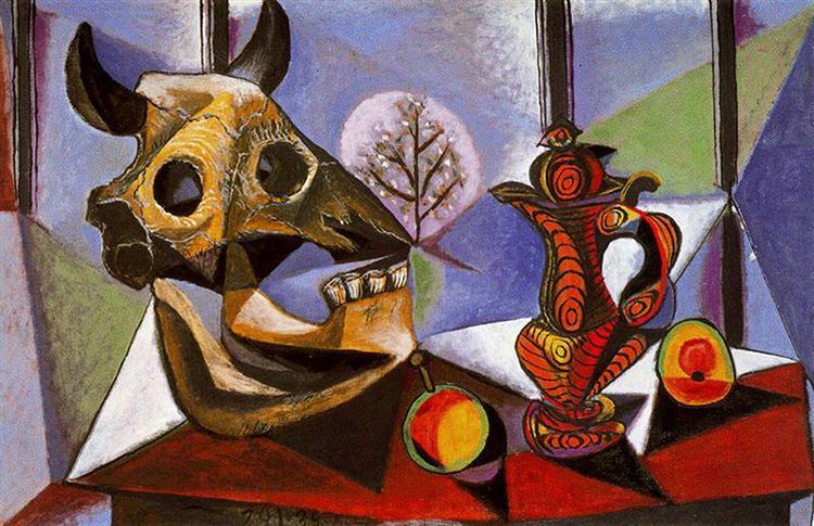 Still Life with Bull's Skull, 1939