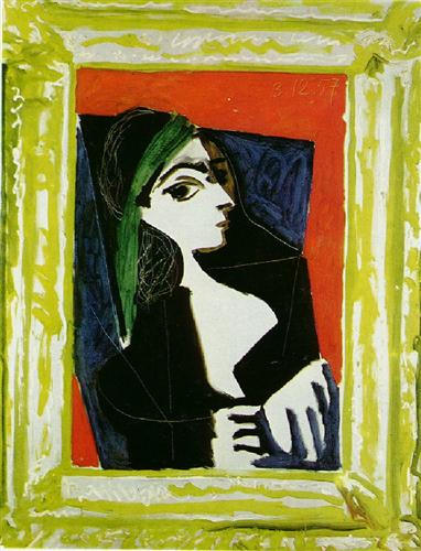 Portrait of Jacqueline, 1957