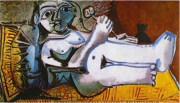 Lying Female Nude, 1964